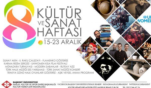 8. Kültür ve Sanat Haftası